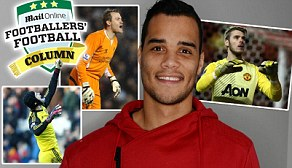 Safe hands: Michel Vorm is Swansea's No 1