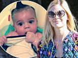 'What's up homies?' Jaime King shares adorable picture of baby son James after she goes shopping in a jazzy jacket