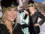 A natural snow bunny! Ireland Baldwin ditches the red carpet for the chilly ski slopes at Sundance celebrity snowboarding event