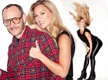Not charmed? Bar Refaeli keeps her clothes ON as she poses in skintight PVC for the notorious Terry Richardson