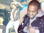 Don't look now, Kim! Kanye West takes center stage as he dances into the night at Been Trill after party in Paris