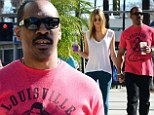 Caffeine is better together! Eddie Murphy and model girlfriend Paige Butcher are back on their regular coffee run