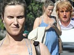 Pictured: Owen Wilson's pregnant baby mama... days away from giving birth to child they chose to conceive despite not being in romantic relationship