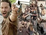 More gore and despair as Andrew Lincoln's group continues zombie fight after prison siege in new Walking Dead mid-season trailer