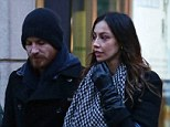 New romance? Michael Fassbender enjoyed Milan date with rumoured new girlfriend Madalina Ghenea on Wednesday