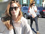 A golden opportunity: Michelle Monaghan flaunts fabulous footwear and lightened hair after shopping trip in Los Angeles