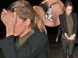 Pictured: Amber Heard's dazzling 'engagement' ring revealed after futile attempt at hiding it during dinner outing