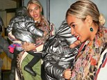 Superstar in the making? Beyonce introduces Blue Ivy to the family business by taking her to a meeting in New York