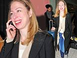 16 Jan 2014 - LONDON - UK\n*** EXCLUSIVE ALL ROUND PICTURES ***\nCHELSEA CLINTON ARRIVING IN LONDON WITH A BEAMING SMILE AND GOING ON A DINNER DATE WITH A FRIEND IN LONDONS SOHO.\nBYLINE MUST READ : XPOSUREPHOTOS.COM\n***UK CLIENTS - PICTURES CONTAINING CHILDREN PLEASE PIXELATE FACE PRIOR TO PUBLICATION ***\n**UK AND USA CLIENTS MUST CALL PRIOR TO TV OR ONLINE USAGE PLEASE TELEPHONE  442083700291 or  13106004723