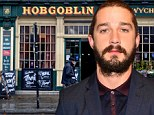 Bar trouble: Shia LaBeouf, shown in April in New York City, was shown in a video released on Thursday headbutting a man in a South London pub