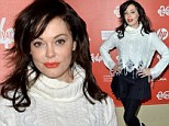 'I get to see my film on the big screen!' Rose McGowan gushes as her directorial debut The Dawn is featured at Sundance