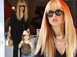 Sweet tooth: Rachel Zoe was seen indulging in some sweet treats at Yogurt Stop in Beverly Hills along with her eldest son, Skylar, who will be three in March