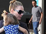'I need a job!' Uma Thurman brings daughter Luna to lunch meeting with her Be Cool co-star Vince Vaughn