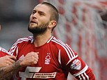 Playoff hopefuls: Henri Lansbury (right) celebrates opening the scoring with Simon Cox