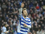 Thrashing: Adam Le Fondre scored three as Reading thrashed Bolton 7-1 at the Madejski Stadium
