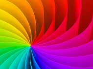 Spectrum colorful background