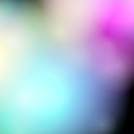 Big glowing color dots