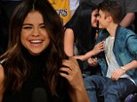 Selena Gomez puts on brave face amid claims Justin Bieber sent her nude pictures and branded her a 'talentless p***y' in vile text conversation