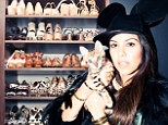 Kourtney Kardashian dons Mickey Mouse hat and lets The Coveteur peek into her Louboutin-filled closet