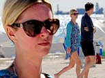 Now THAT'S better! Nicky Hilton displays much healthier physique on romantic beach stroll with banker boyfriend James Rothschild