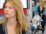 A moment to breathe! Claire Danes takes a break from glitzy red carpets to enjoy make-up free downtime with son Cyrus