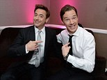Robert Downey Jr. and Benedict Cumberbatch