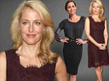 Ageing like fine wine! Gillian Anderson and Minnie Driver are fabulous in their forties at Television Critics Association event
