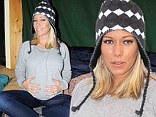 Music mom: Kendra Wilkinson displayed her baby bump on Sunday while visiting the LG Music Lodge as part of the Sundance Film Festival in Park City, Utah