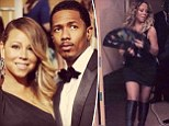 'On our way to party!' Mariah Carey and Nick Cannon leave the kids at home as they enjoy a night out at SAG afterparty