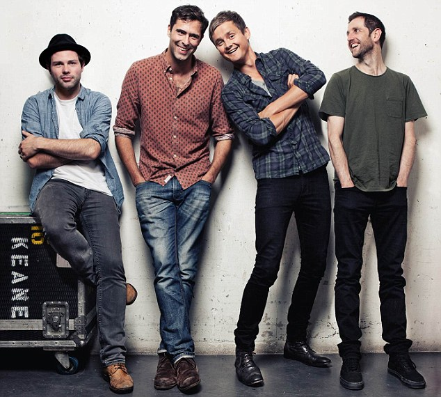 Feeling lost: Keane came up with Somewhere Only We Know shortly after to moving to London from Sussex to seek their fame and fortune