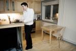 Peter Stjernen (34) ble nødt til å ta opp forbrukslån for å komme seg inn på boligmarkedet.Han mente dette var hans eneste og beste løsning for å møte kravet om 15 prosent egenkapital.