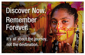 Discover Now. Remember Forever. It's all about the journey not the destination.