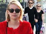 She's red hot! Emma Roberts bundles up in a large furry coat as she enjoys a day out with photographer Tyler Shields