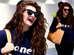 She's like Royal-ty! Homecoming queen Lorde returns to fanfare as she touches down in her native New Zealand following dual Grammy win