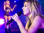 Ellie Goulding performed at the Palladium in Cologne on January 28