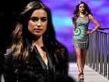 She's got it! Model Irina Shayk poses for Desigual fashion brand
