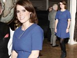 Having fun: Princess Eugenie of York attends the Faberge Big Egg Hunt Cocktail Countdown event in New York City