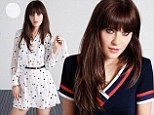 Zooey Deschanel is an all American beauty in first images from her fashion collaboration with Tommy Hilfiger