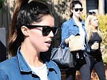 Just like mummy! Katherine Schwarzenegger is the image of Maria Shriver as she lunches in Los Angeles