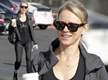 Boost that metabolism! Naomi Watts spotted grabbing coffee in LA after her Tuesday workout