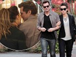 Len me a hand! Kate Beckinsale walks arm-in-arm with director husband Wiseman in Los Angeles