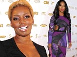 All apologies: NeNe Leakes, left, blamed Kenya Moore for the recent fight on The Real Housewives of Atlanta and made fun of her male friend while apologising for the violence
