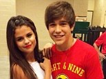 'I think she's really pretty but we're just friends': Singer Austin Mahone denies rumours he's dating Selena Gomez