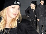 Showing him off! Madonna, 55, takes toyboy Timor Steffens out for a night on the town for a sushi date