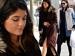 On their own! Kendall and Kylie Jenner escape the Kardashian clan in LA to do big business in NYC
