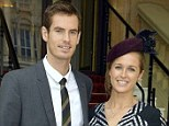Big news? Andy Murray and Kim Sears are one of Britain's glamour couples