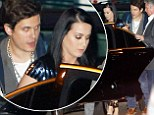 Undercover lovers! Katy Perry and John Mayer once again keep a low profile and avoid the red carpet