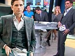He's a stripper! John Stamos unzips his slacks to show off quirky underwear while on morning show