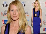Fashion fail! Gwyneth Paltrow shows some skin in cut-out frock... but can't keep up with her sexy peers in low-cut dresses