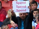 Spend? With a chance of winning the title Arsenal fans are angry they haven't bought more